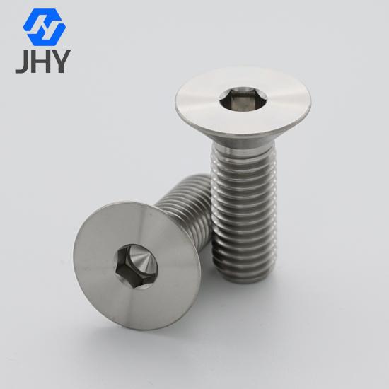 DIN7991 flat head titanium screws