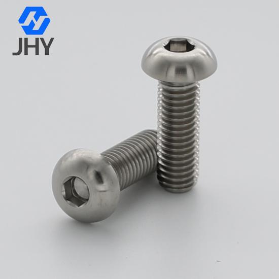 ISO7380 button head titanium screws