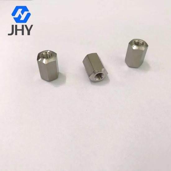 Gr2 M6x20 Titanium hexagon thick nuts
