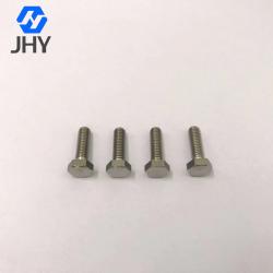 Gr2 M6*20 DIN933 Hot forging titanium hex bolts