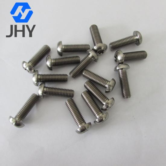 Gr5 M6*25 ISO7380-T30 Button head itanium torx screws