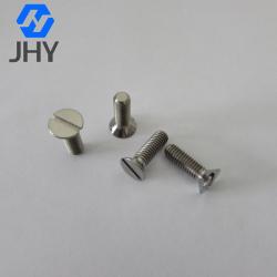 DIN963 Titanium slotted head screws