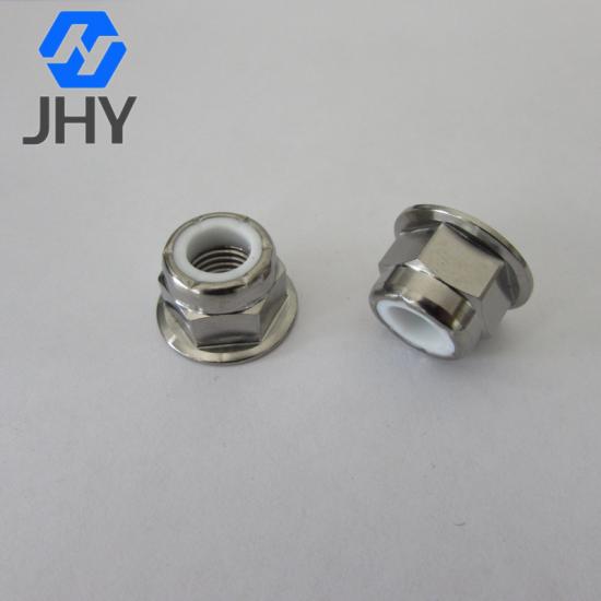 Gr5 DIN6926 Titanium flange nylon lock nuts