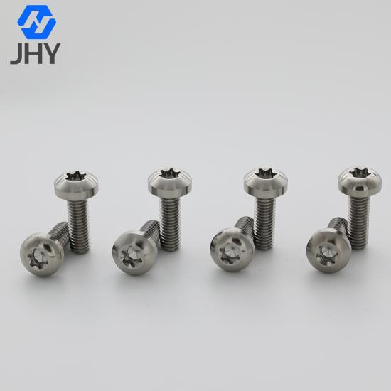Titanium Torx Button Head Screws