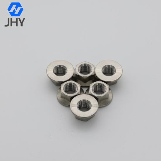 Titanium Hexagon Flange Nuts