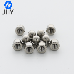 Titanium Hexagon Acorn Nuts