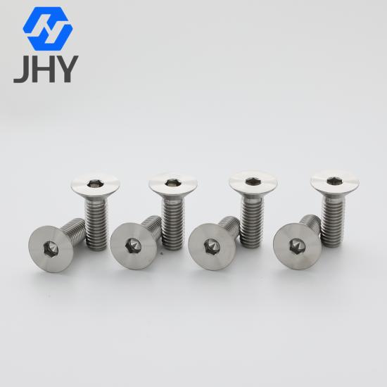 Titanium Hexagon Socket Countersunk Head Screws