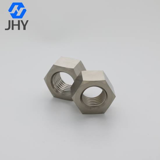 Titanium Hexagon Nuts - Product Grade A and B