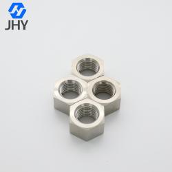 Titanium Hexagon Nuts - Style 1