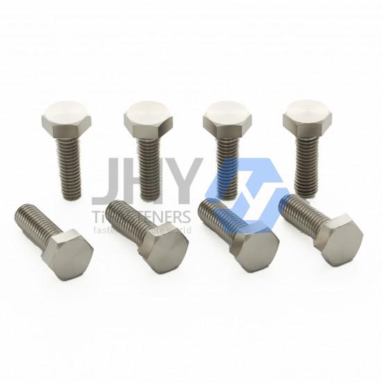 Titanium Hexagon Head Bolts - Full Thread - Product Grade A and B