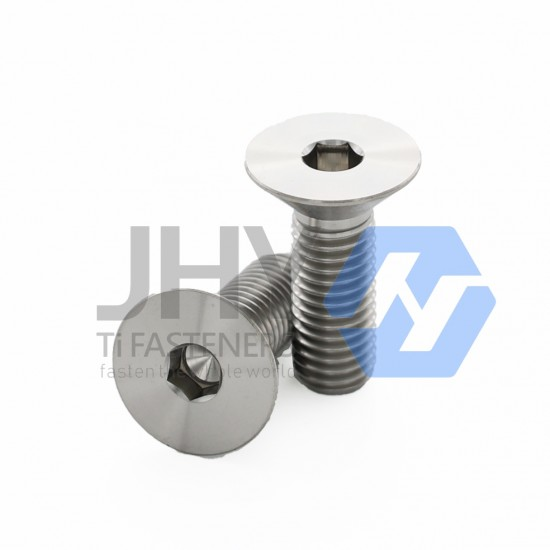 Titanium Hexagon Socket Countersunk Head Screws