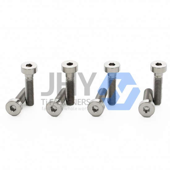 Titanium Hexagon Socket Thin Head Cap Screws