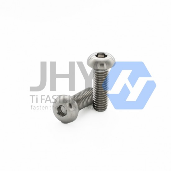 Titanium Hexagon Socket Button Head Screws