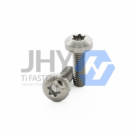 Titanium Hexalobular Socket Pan Head Screws