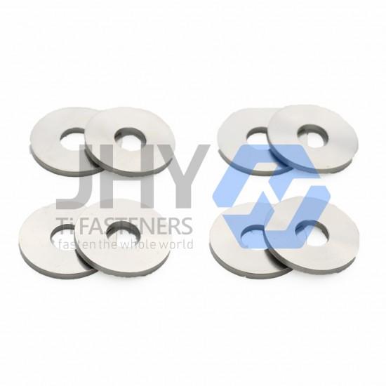 Titanium Plain Washers - Large Series - Grade A