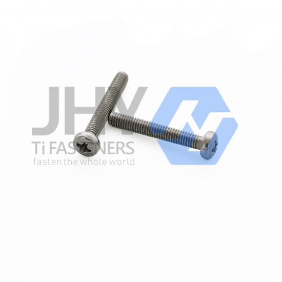 Titanium Cross Recessed Pan Head Screws